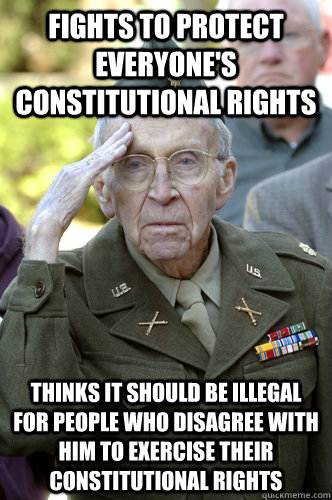 disappointed in America Veteran memes   quickmeme