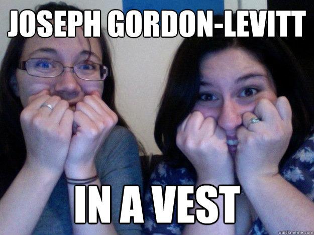 Joseph Gordon-levitt in a vest - Joseph Gordon-levitt in a vest  IN A VEST