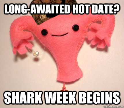 long-awaited hot date? Shark week begins