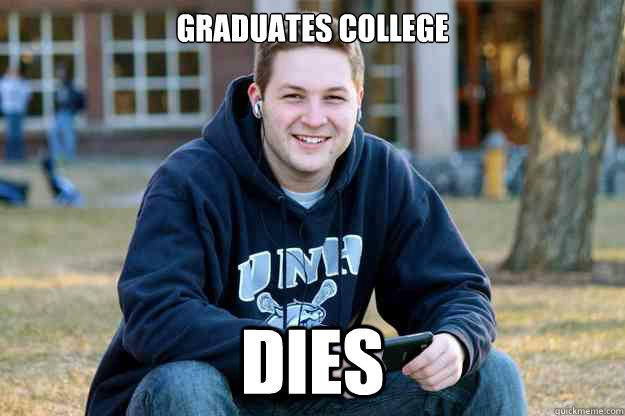 Graduates college DIES