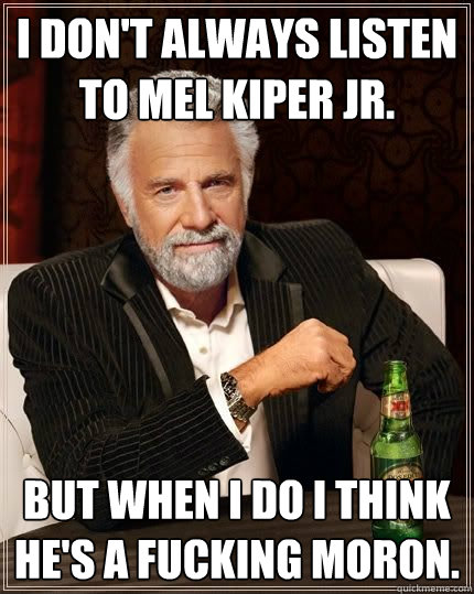 Image result for mel kiper idiot