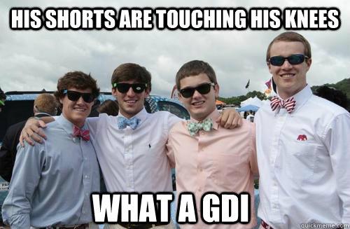 gdi dating a frat guy fashion