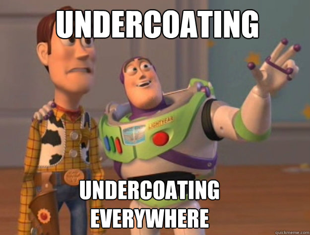 Undercoating undercoating  everywhere