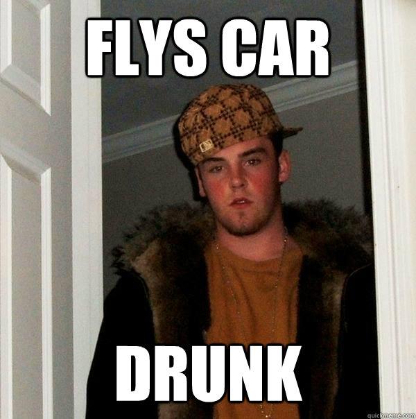 flys car drunk - flys car drunk  Scumbag Steve
