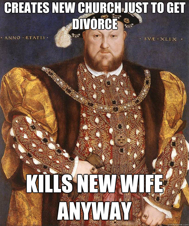 Creates new church just to get divorce kills new wife anyway