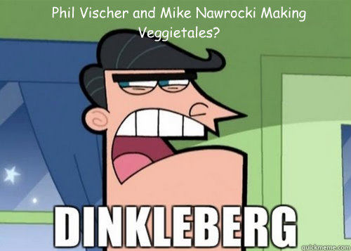 Phil Vischer and Mike Nawrocki Making Veggietales?