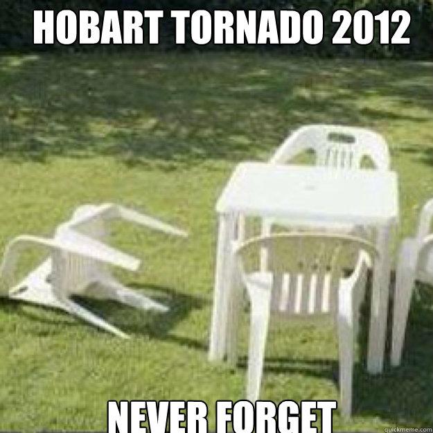 Hobart Tornado 2012 never forget