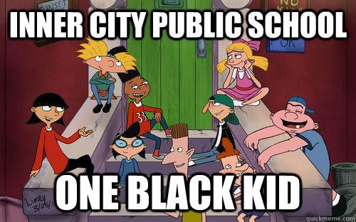 Inner City Public School One Black Kid - Inner City Public School One Black Kid  Misc