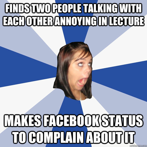 talking to a girl on facebook