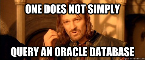 Don't query SQL
