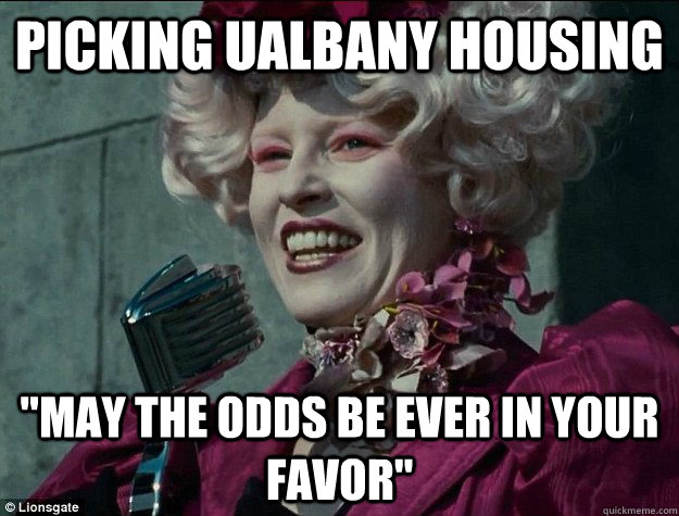 Picking UAlbany Housing