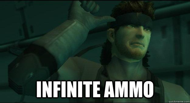 Infinite Ammo -  Infinite Ammo  Misc