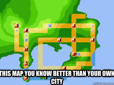 This map you know better than your own city