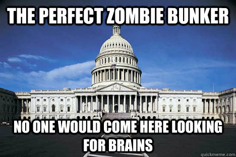 The perfect zombie bunker no one would come here looking for brains - The perfect zombie bunker no one would come here looking for brains  Misc