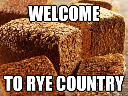 Welcome To rye country - Welcome To rye country  rugbrd