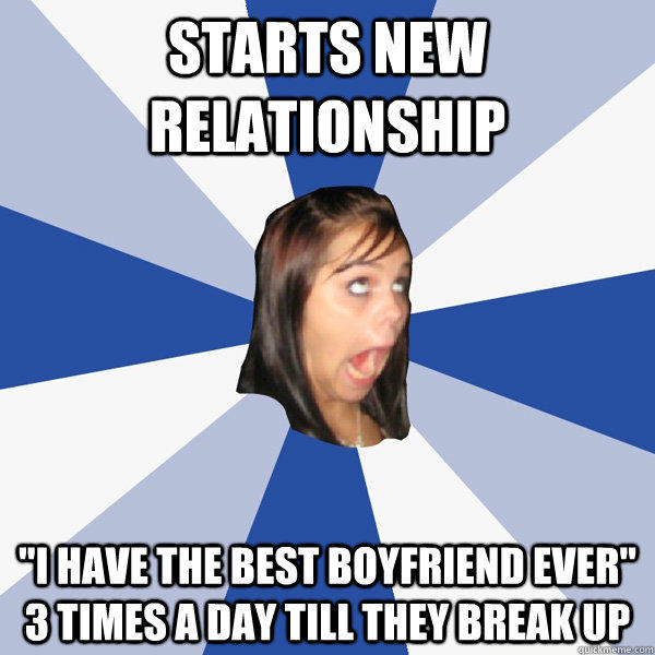 starts new relationship