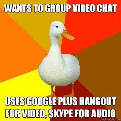 how to add audio on google hangout