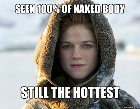 Seen 100% of naked body still the hottest