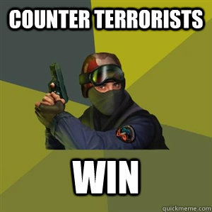 Counter terrorists Win - Counter terrorists Win  Counter Strike