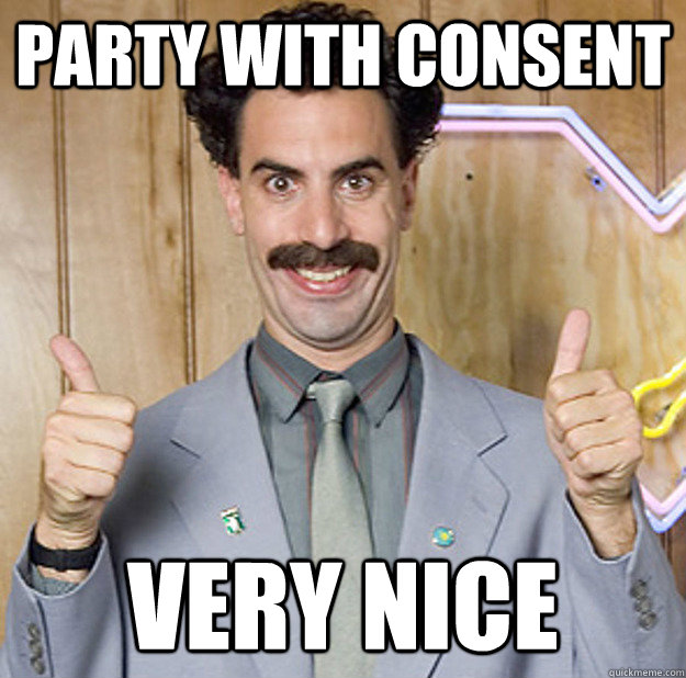 party with consent VERY NICE