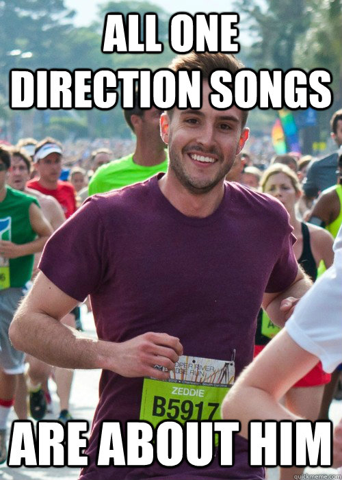 All one direction songs are about him