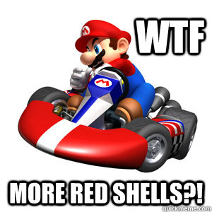 WTF More red shells?!