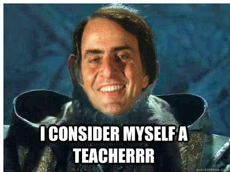 I consider myself a teacherrr - I consider myself a teacherrr  Misc