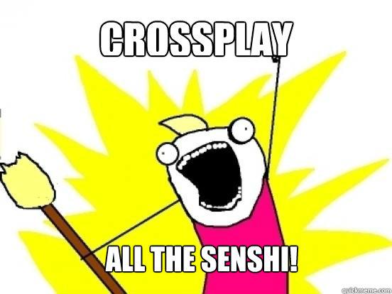 Crossplay all the senshi!