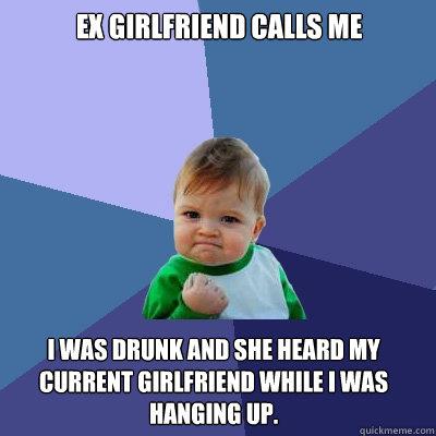 girlfriend calls me baby