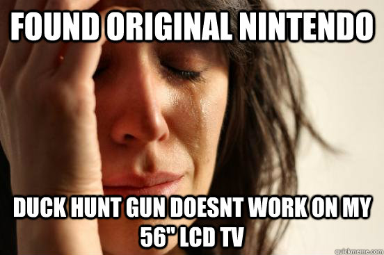 FOUND ORIGINAL NINTENDO DUCK HUNT GUN DOESNT WORK ON MY 56