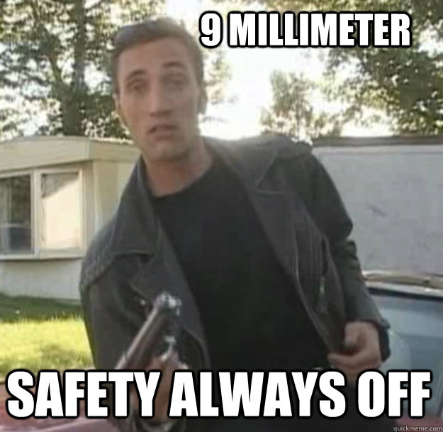 9 millimeter Safety always off - 9 millimeter Safety always off  Misc