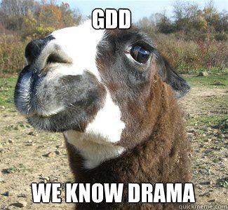 GDD We know DRAMA  Drama Llama
