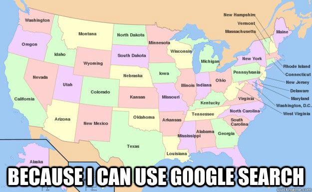 Because i can use google search  Merica