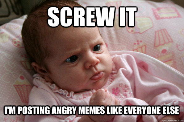 Funny Meme Baby Pictures : Funny angry baby memes lekton
