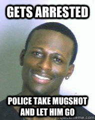 Gets arrested Police take mugshot and let him go  Ridiculously Photogenic Mugshot