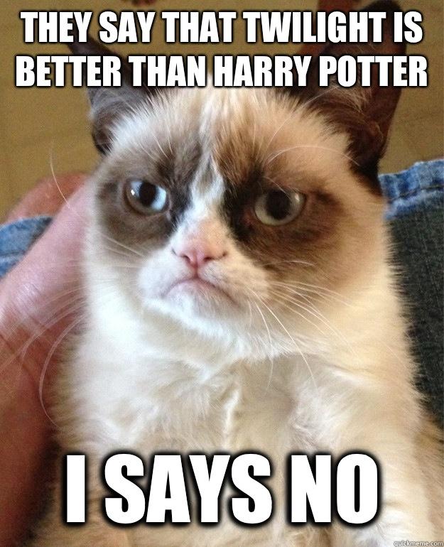 Grumpy Potter