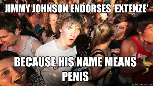 Jimmy Johnson Endorses Extenze Because His Name Means Penis
