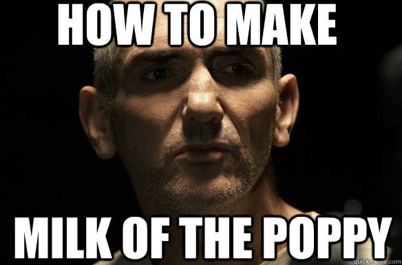 9dfade8beca6f5baa8373e84c3d9cceab703d859b1083e194acca7db1973f3de how to make milk of the poppy maester luwin meme quickmeme,Poppy Meme