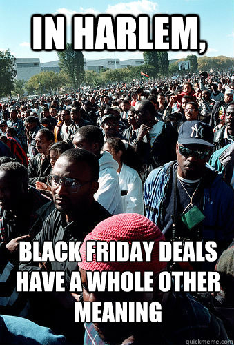 In Harlem, Black Friday Deals have a whole other meaning  Black Friday