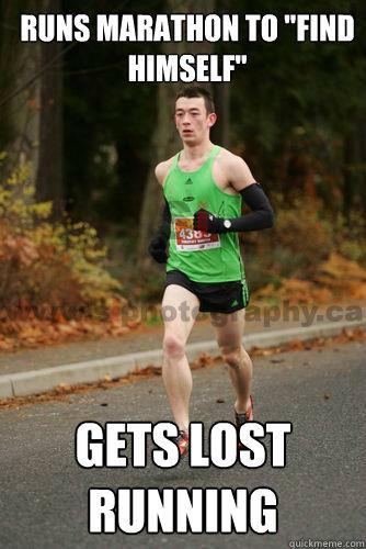 Runs Marathon to