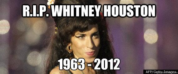 R.I.P. WHITNEY HOUSTON 1963 - 2012