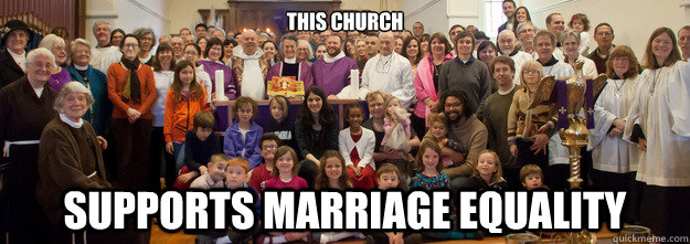This church Supports Marriage equality - This church Supports Marriage equality  Misc