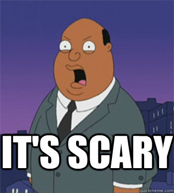 it's scary  Ollie Williams