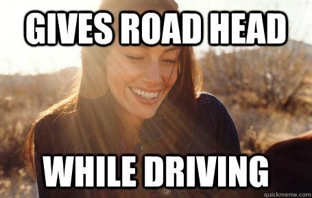 Giving Road Head