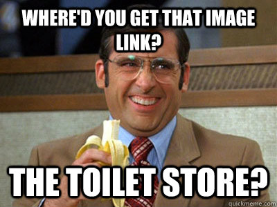WHERE'd you get that image link? The toilet Store?
