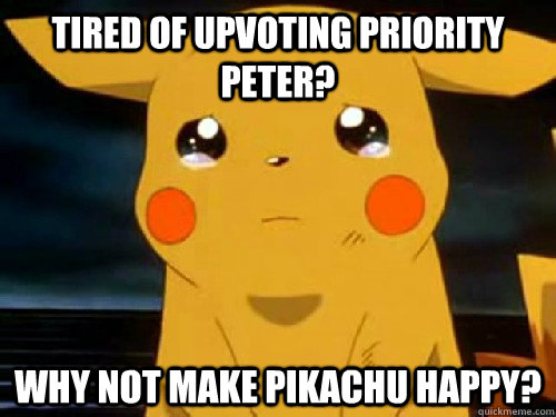 Are not Priority peter meme confirm