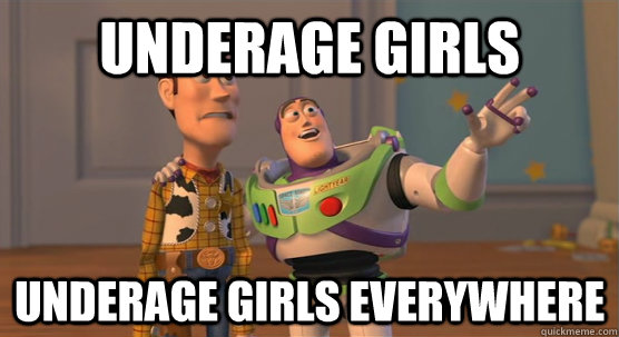 Underage Girls underage girls everywhere - Underage Girls underage girls everywhere  Toy Story Everywhere