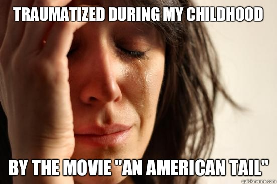 Traumatized during my childhood By the movie