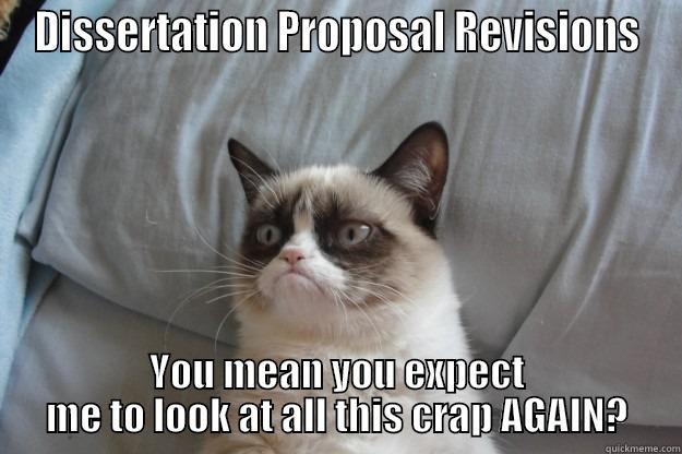 Dissertation revisions meme, ybp determines this...
