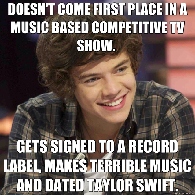 9f6c9fdd914383d11c2ba312067cf1a3477dd98956bfa7ff385a8ef41fa1ff5c doesn't come first place in a music based competitive tv show